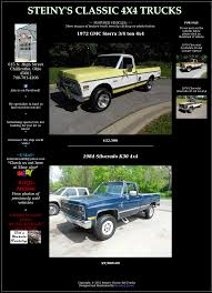 Steiny's Classic 4x4 Trucks Competitors, Revenue And Employees ... Classic Chevrolet Is Your New And Used Car Dealership In Pittsburgh Pa What Ever Happened To The Affordable Pickup Truck Feature 1957 Gmc Panel Hot Rod Network 2019 Ram 1500 Model Will Be Sold Alongside New 1979 K25 Royal Sierra 34 Ton 4x4 Like Chevy Bonanza 1966 Ck Regular Cab For Sale Near Chevy Cheyenne Trucks Cheyenne Super Sportsmobile Adventure Vans 4wd 4 Wheel Drive 1986 O Fallon Photos Classic Click On Pic Below See Vehicle Larger For