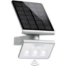 spot solaire avec détecteur de mouvements steinel xsolar l s 1 2 w
