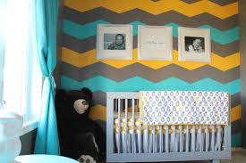 yellow and gray chevron nursery bedding tags yellow and gray