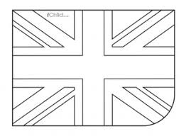 British Union Flag Jack Colouring In Picture