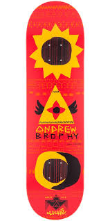 Are Cliche Skateboard Decks Good by Andrew Brophy Gypsy Life Impact Skateboard Deck 8 25