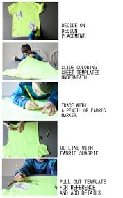 Decorating Fabric With Sharpies by Sharpie Art Shirts More T Shirt Inspiration