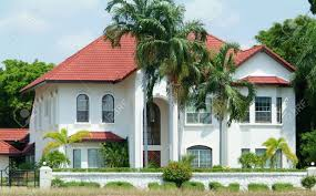 100 Villa In White Luxury Villa In Tropical Climate Surounded By Palm Trees