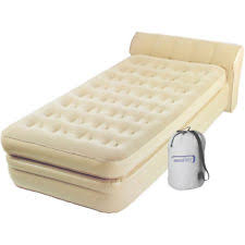 Aerobed With Headboard Full Size by Aerobed Twin Inflatable Mattresses Airbeds Ebay