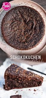 schokoladenkuchen ohne mehl glutenfrei in 2021