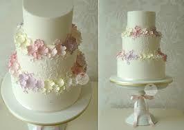 Trailing Sugar Flowers Wedding Cake By The Designer Company