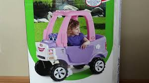 Sweet Girl Riding In The Little Tikes Cozy Coupe Princess Truck ... Amazoncom Little Tikes Princess Cozy Truck Rideon Toys Games By Youtube R Us Australia Coupe Dino Canada Being Mvp Ride Rescue Is The Perfect Walmartcom Sport Dodge Trucks Pinkpurple Shopping Cart Free