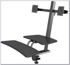 Ergotron Workfit D Sit Stand Desk by Workfit D Sit Stand Desk With Regard To Encourage Zabaia Com