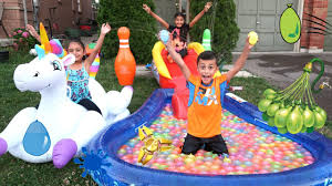 Inflatable Tubes For Toddlers by Giant Inflatable Water Slide For Kids With Pool Party Giant Floats