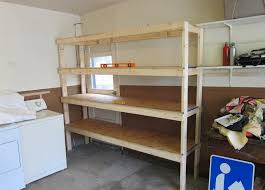 wood garage shelves catchy patio creative or other wood garage