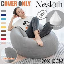 Soft Bean Bag Chairs Couch Sofa Cover Indoor Lazy Lounger For Adult Gaming  Sofa Top 10 Bean Bag Chairs For Adults Of 2019 Video Review 2pc Chair Cover Without Filling Beanbag For Adult Kids 30x35 01 Jaxx Nimbus Spandex Adultsfniture Rec Family Rooms And More Large Hot Pink 315x354 Couch Sofa Only Indoor Lazy Lounger No Filler Details About Footrest Ebay Uk Waterproof Inoutdoor Gamer Seat Sizes Comfybean Organic Cotton Oversized Solid Mint Green 8 In True Nesloth 100120cm Soft Pros Cons Cool Desain