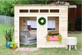 100 Design Garden House 16 Free Backyard Playhouse Plans For Kids