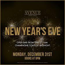 NYE 2019 At Avenue Tickets Avenue New York NY December 31 2018