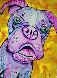 Liquid Watercolor Doodle Animals Conway High School Art Project