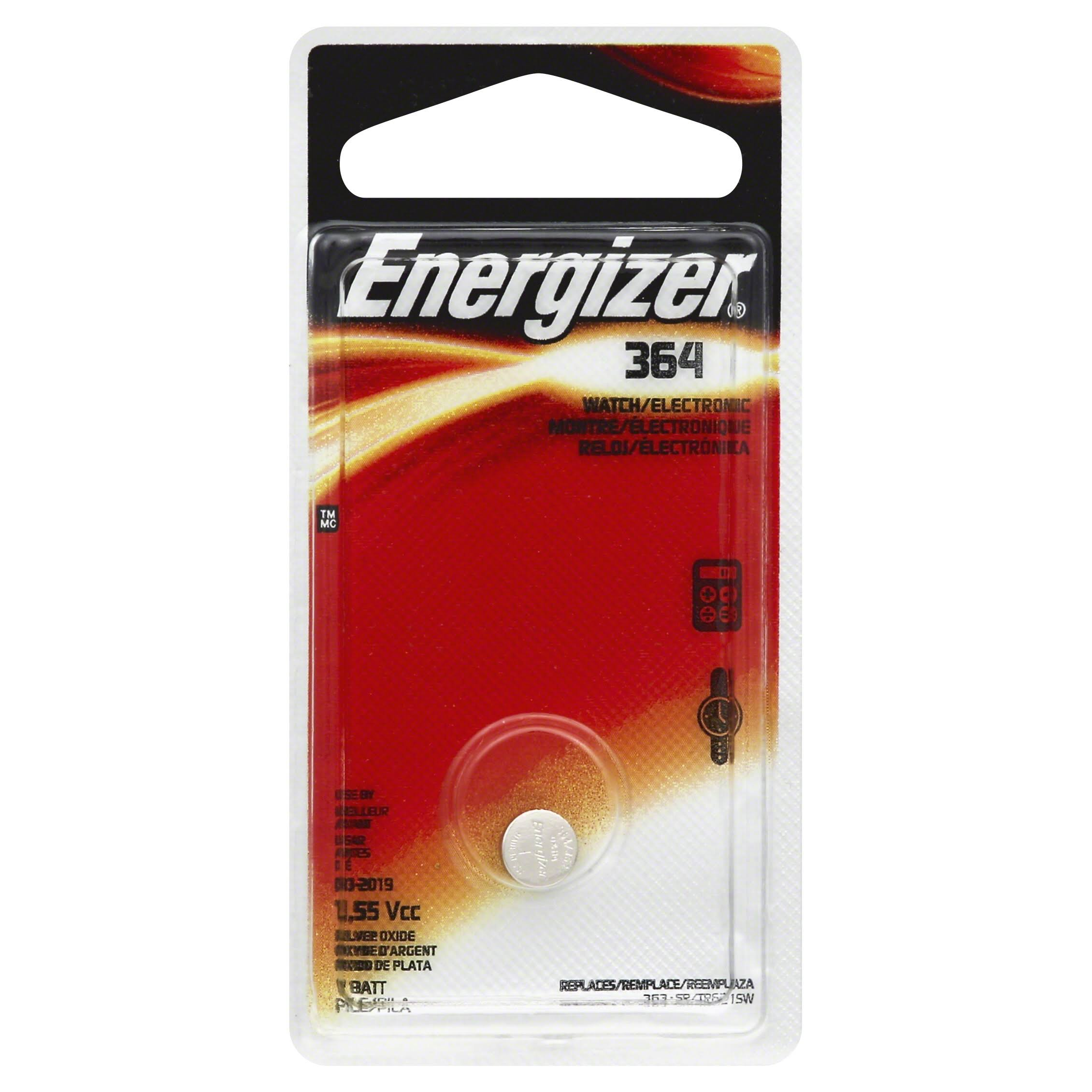 Energizer 364BPZ Zero Mercury Battery