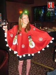 Tis The Season For Tacky Holiday Sweaters A Tree Skirt