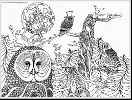 Amazing Printable Owl Coloring Pages Adult With Free To Print And