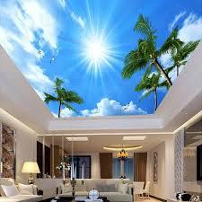 Custom Photo Wallpaper 3D Living Room Bedroom Ceiling Murals Wall Decor Painting Non Woven