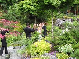 Garden Wedding Glacier Gardens Rainforest Adventures