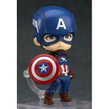 Good Smile Company Nendoroid 618 Avengers Age Of Ultron CAPTAIN AMERICA Heros Edition Action Figure