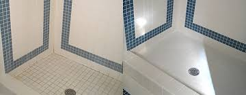oregon tile and grout cleaning before and after pictures