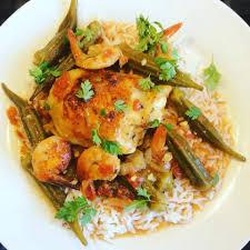 cuisine louisiane poulet louisiane crevettes et gombos à l omnicuiseur la