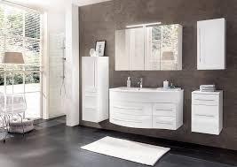 sam badmöbel dali 5tlg badezimmer set weiß hochglanz waschplatz 110 cm mit mineralgussbecken links 1 spiegelschrank 1 hochschrank 1