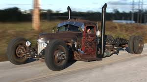 100 Rat Rod Semi Truck 1941 International Cummins Diesel Powered Urban Hillbilly