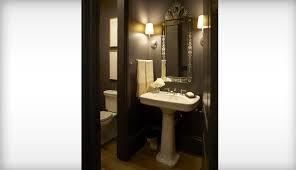 powder room atlanta family townhome idea homes bathroom