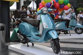 Vespa Malaysia Shows Six New Scooters At 70th Anniversary Celebrations Prices From RM15781