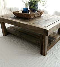 lovable rustic barnwood coffee table diy reclaimed barn wood