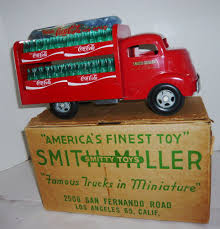 Rare Vintage Coca-cola Gmc Red Smith Miller Smitty Toy Truck W/cases ... Folk Art Smith Miller Coke Truck Smitty Toy Smithmiller Sales Brochures And Picture History Hank Sudermans Navajo Kenworth Drom Pictures Lot 682 Smith Miller Pacific Iermountain Express Pie Toy Truck Inc Trucks Handmade In America Details Toydb Weekend Finds Mack Dump Parts B Model Mac Mc Lean Trucking Company Cab Trailer Fire And Ladder Z614 Kissimmee 2011 Awesome Original Vintage 1950 Sthmiller Dep No 3