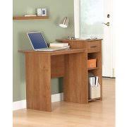 Sauder Beginnings Student Desk Highland Oak by Sauder Beginnings Desk With Hutch Cinnamon Cherry Walmart Com