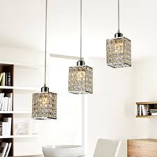 3 lights commercial pendant lights metal for living room