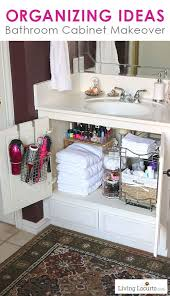 20 Bathroom Organization Ideas Via A Blissful Nest Declutter The Cabinet By Living Locurto