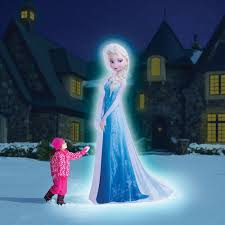 Halloween Blow Up Yard Decorations Canada by The 8 U0027 Inflatable Elsa Hammacher Schlemmer