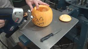 Best Way To Carve A Pumpkin Lid by How To Carve Halloween Jack O Lantern Pumpkins With A Jigsaw Youtube