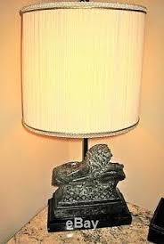 Maitland Smith Lamps Ebay by Vtg Maitland Smith Lying Lion Lamp Shade Bronzed Metal Mosaic