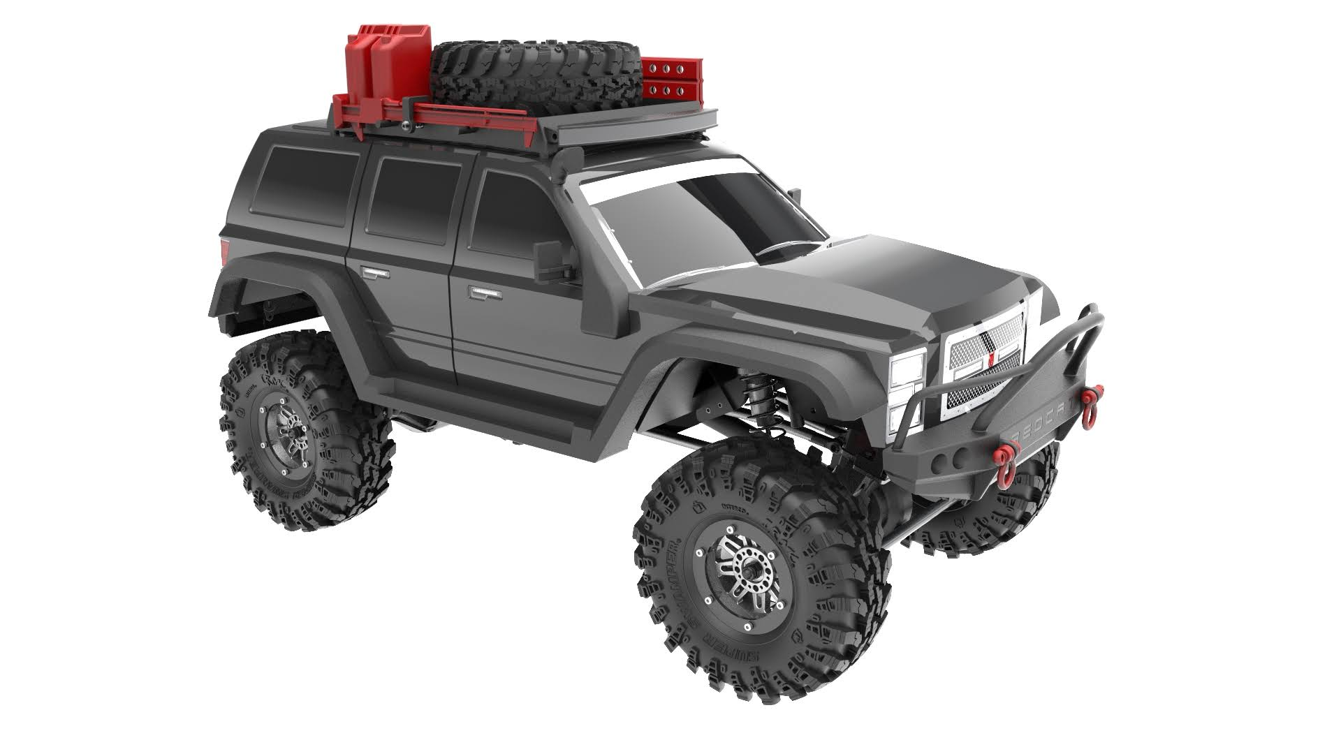 Redcat Gen7 Pro Racing Everest - Black, 1/10 scale