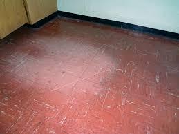 Asbestos Floor Tiles Red
