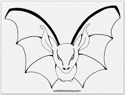 Beautiful Bat Coloring Page 83 For Your Line Drawings With