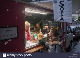 100 Food Truck Apps September 26 2018 Stockholm Sweden A Swede Buys A Soup From A