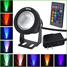 lighting colored flood lights 10w watts rgb led flood
