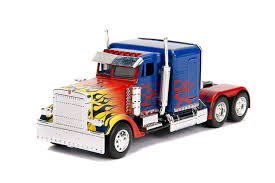 100 Optimus Prime Truck Model Amazoncom With Robot On Chassis From