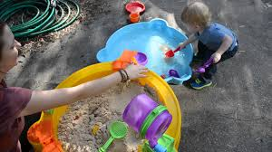 Sand U0026 Water Tables For by Little Tikes Treasure Hunt Sand U0026 Water Table Review Youtube