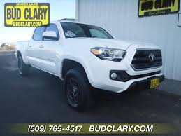 100 Moses Lake Truck Sales Used OneOwner 2017 Toyota Tacoma SR5 In WA Bud Clary