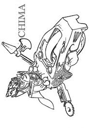 Coloring Pages Page Lego Chima Printable Within
