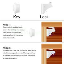 magnetic lock kit for cabinets 11 pcs magnetic cabinet locks baby safety set 8 locks 3