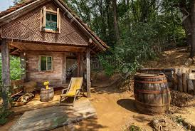 100 House In Forest Wooden House In Forest House Made Of Natural Materials