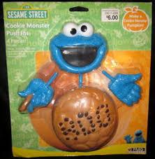 Pumpkin Push Ins by Sesame Street Pumpkin Carving Kits Muppet Wiki Fandom Powered